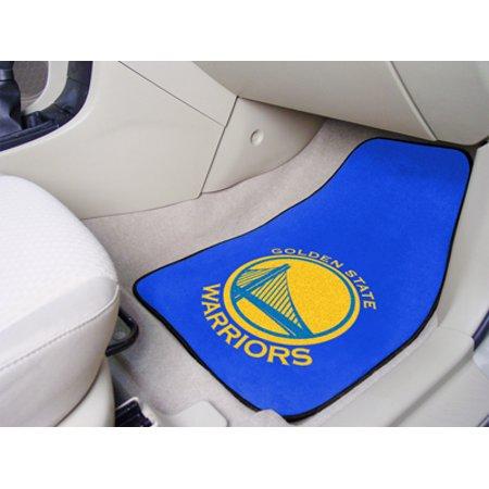 "NBA - Golden State Warriors 2-pc Carpeted Car Mats 17""x27"" - image 1 of 2"