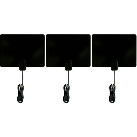 Winegard FL-1000 Flatwave Non-Amplified Ultra-Thin Indoor HD Antenna, Pack of