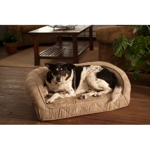 Buddy Beds Memory Foam Bolster Dog Bed
