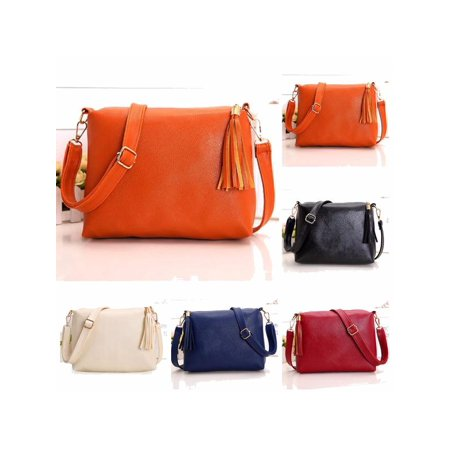 New Fashion Leather Hobo Handbags For Women Crossbody Messenger Bag Shoulder (Patent Leather Messenger)