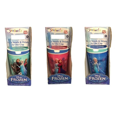 Frozen Elsa Snackeez Jr - Complete set of 3 - image 2 of 2