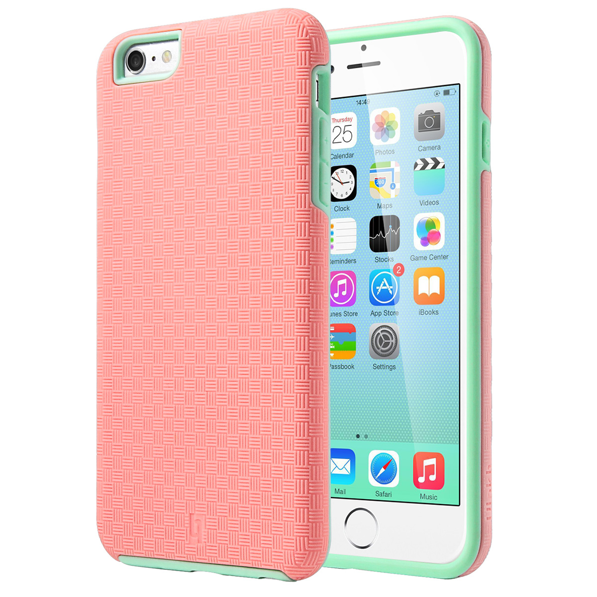 iPhone 6s Plus Case, iPhone 6 Plus Case, ULAK Slim Protective Shock Absorbent TPU Bumper Hard Cover for Apple iPhone 6 Plus /6s Plus 5.5'',Mint Green