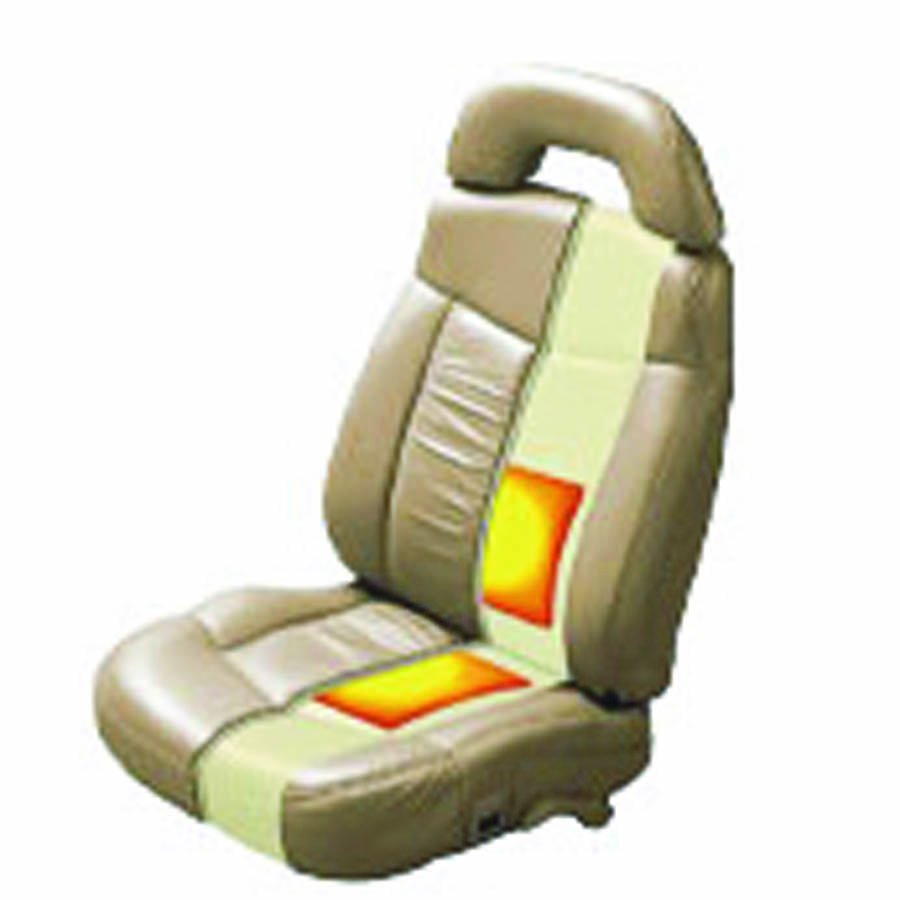 Carbon Fiber Heated Seat Kit with Switch and Plug-and-Play Harness (1 Seats)