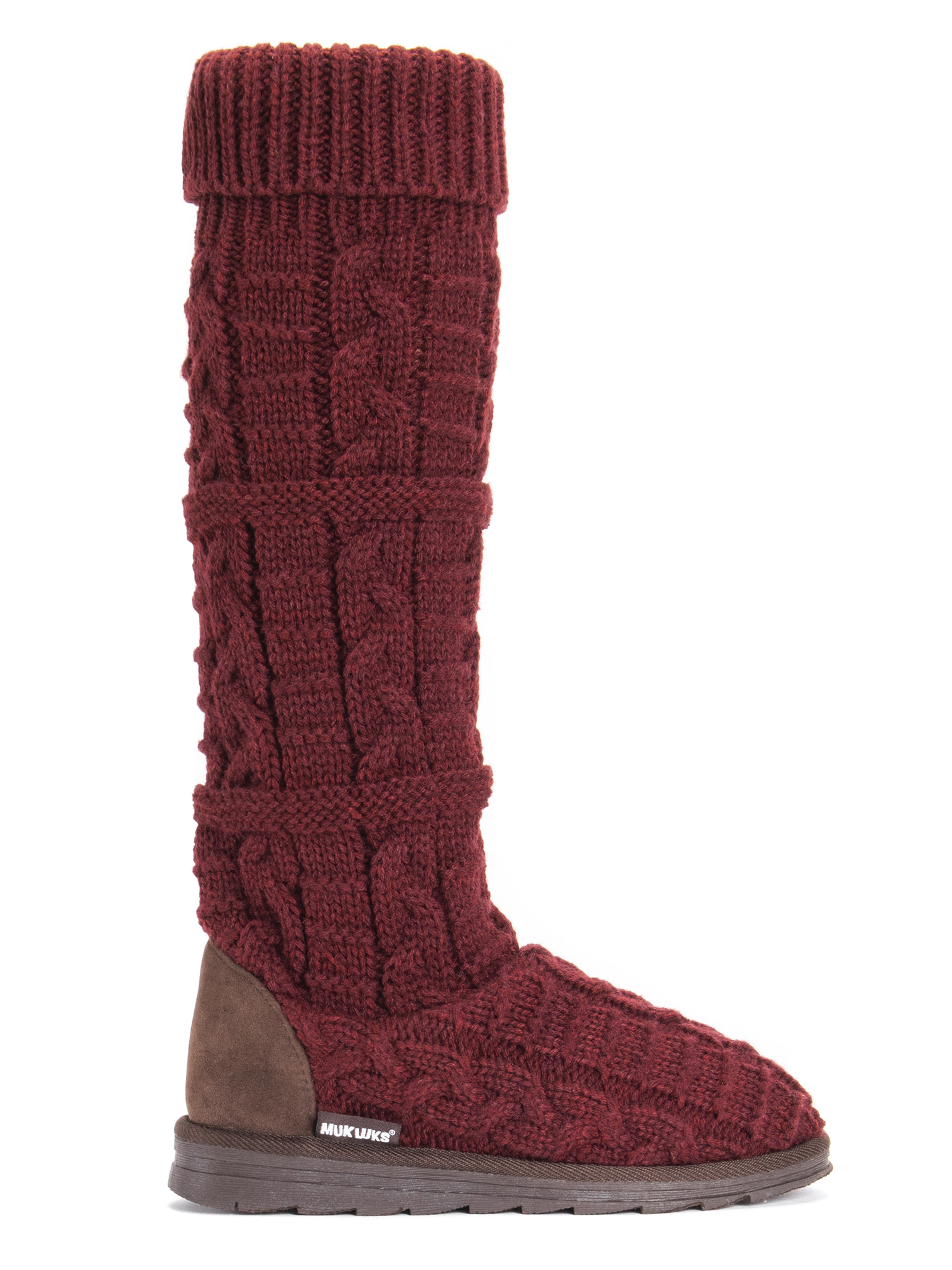 Muk Luks - MUK LUKS® Women s Shelly Slipper Boot - Walmart.com 56fab747b