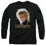 Labyrinth Jareth Mens Long Sleeve Shirt