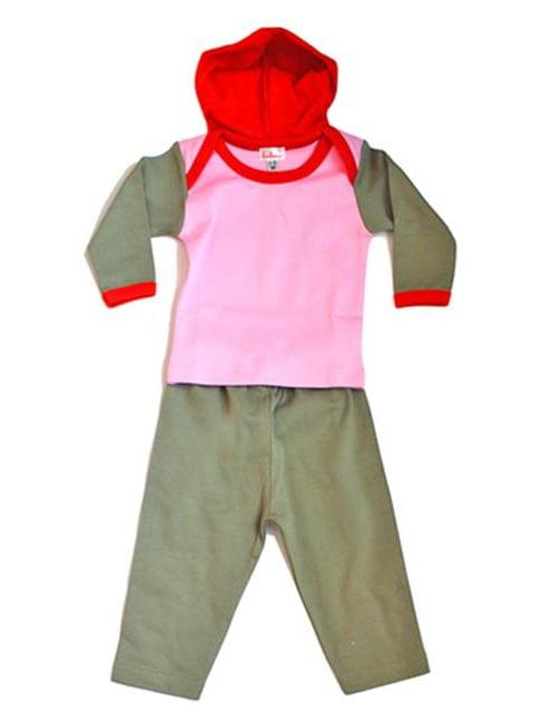 Loralin Design HG3 Girl Hoodie Set, 3-6 Months