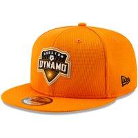 Houston Dynamo New Era On-Field 9FIFTY Adjustable Snapback Hat - Orange - OSFA