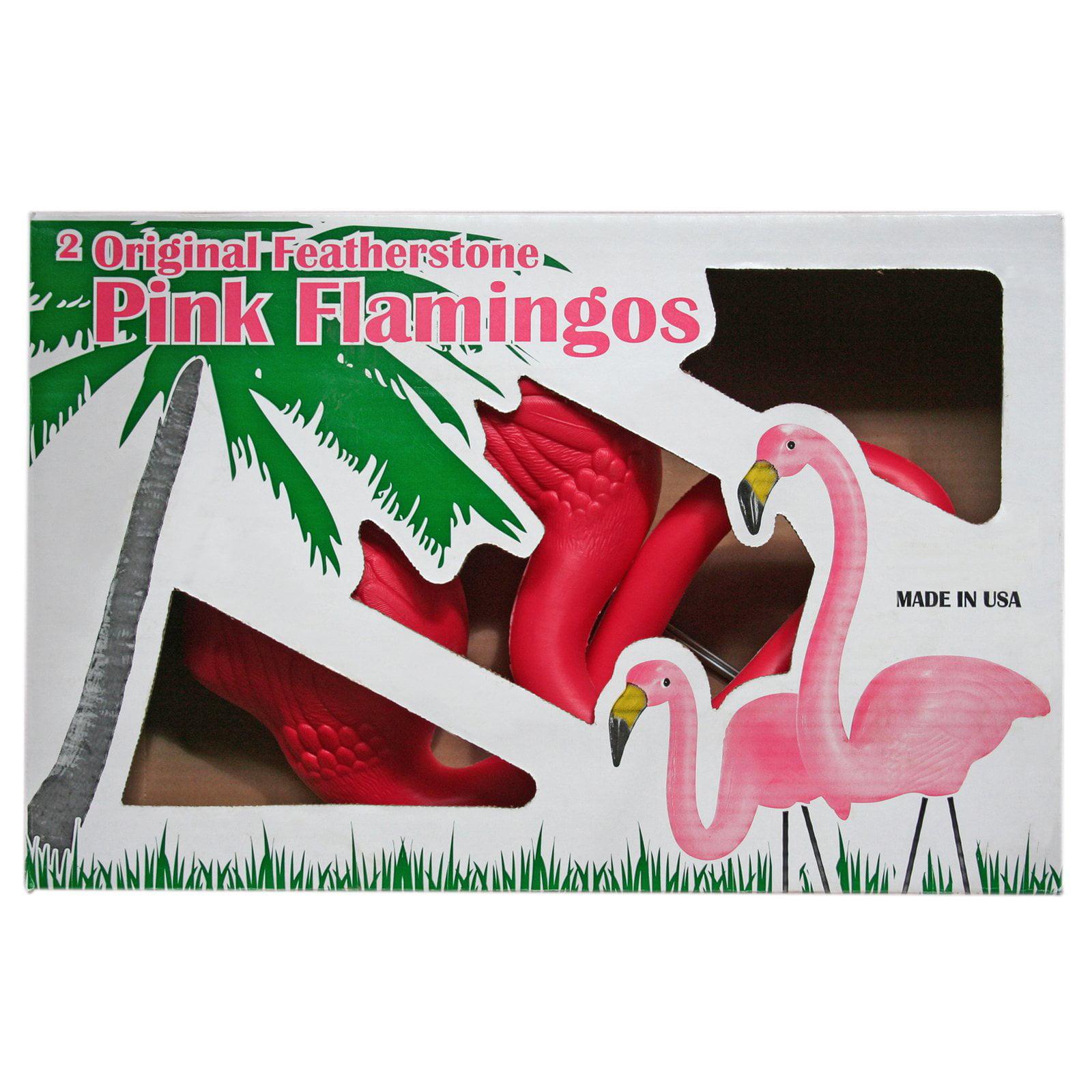 "Union 62360 31"" & 25"" Pink Flamingo, 2 Count"