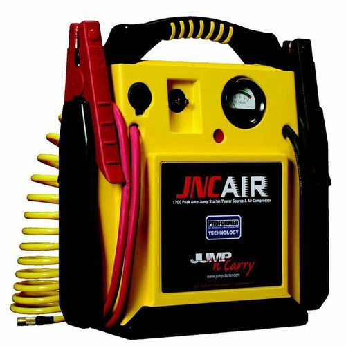 Jump-N-Carry AIR 1,700 Peak Amp 12V Jump Starter with Integrated Air Delivery System
