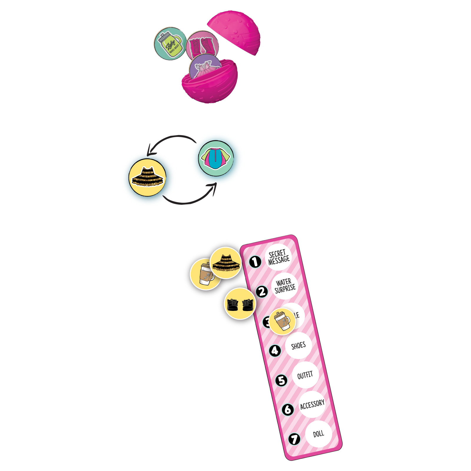 L O L Surprise 7 Layers Of Fun Board Game Walmart Com