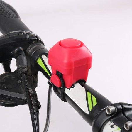 Bike Electric Horn 130dB Loud Alarm Siren Bicycle Handlebar Mounted Warning Bell Cycling Accessory - image 9 of 10