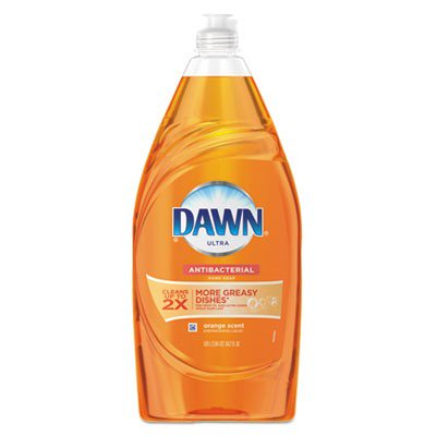 Dawn Ultra Dishwashing Liquid Dish Soap, Antibacterial Orange, 34.2 oz