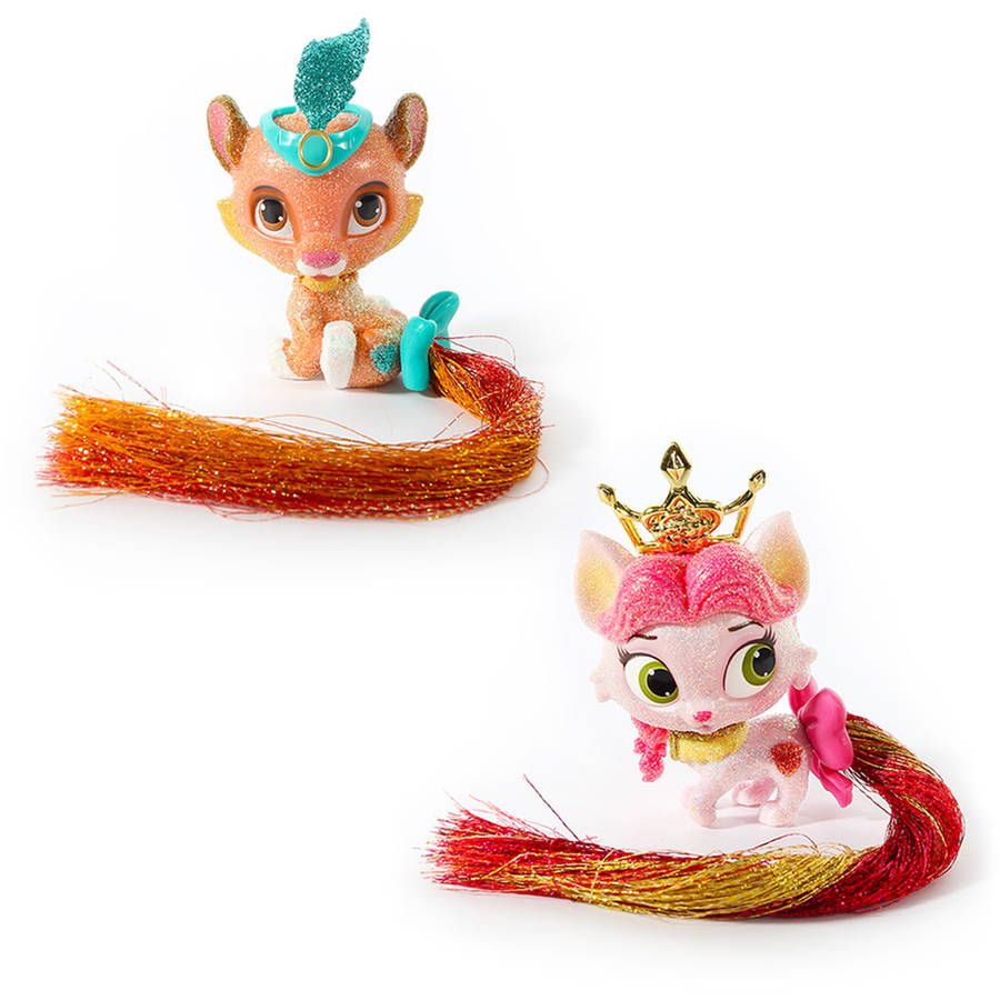 Disney Palace Pets Glitzy Glitter Friends, 2-Pack, Sultan/Rouge