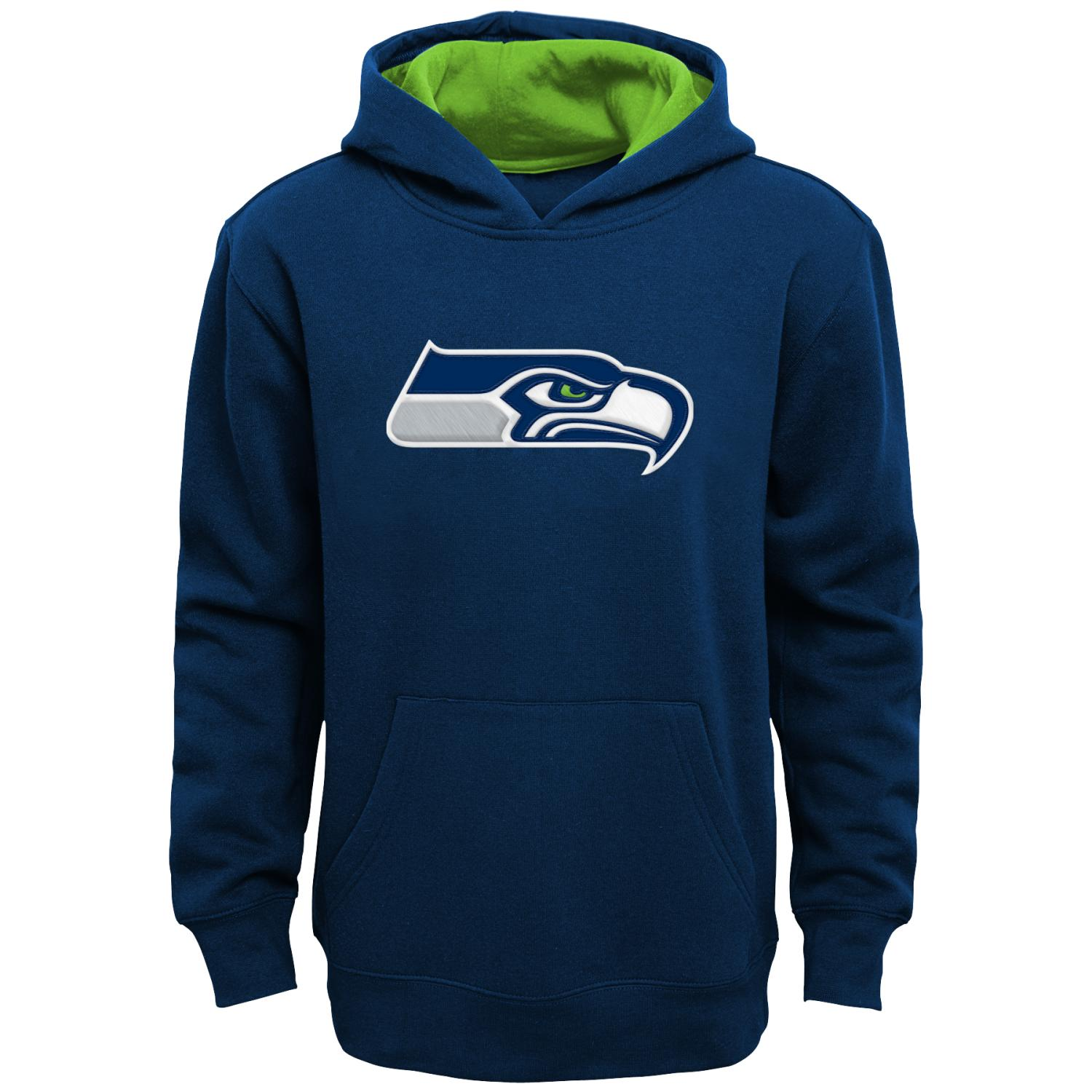 "Seattle Seahawks Youth NFL ""Primary"" Pullover Hooded Sweatshirt"