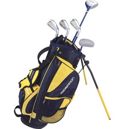 - Prosimmon Icon Junior Golf Club Youth Set & Stand Bag for kids ages 8-12 RH
