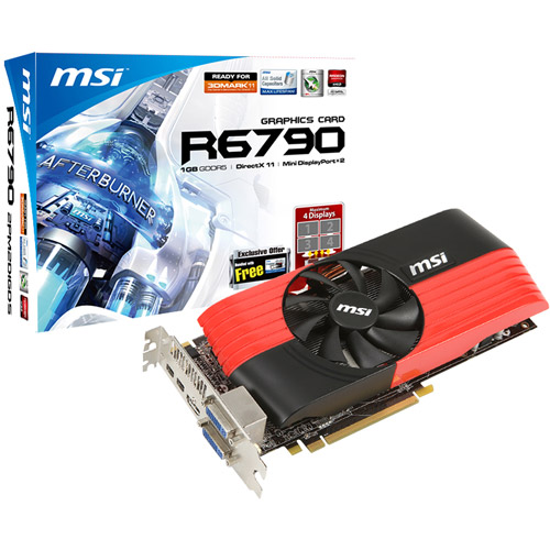 MSI Radeon HD6790 1024MB DDR2 Graphics Card