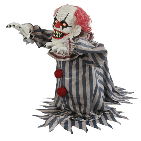 Jumping Clown Prop Halloween Decoration](Halloween Mesh Decorations)