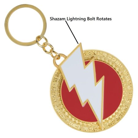 Key Chain - Shazam - Logo Rotating New ke7nlnshz - image 1 of 1