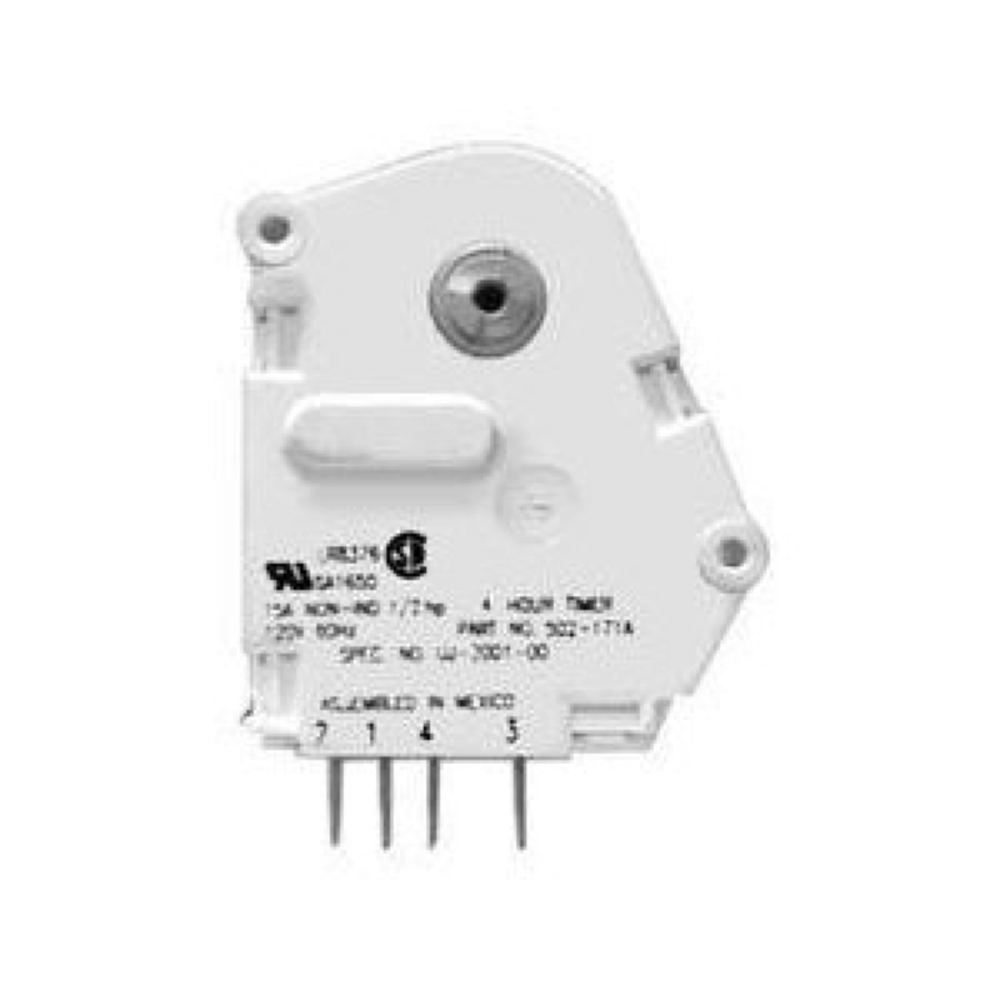 DAYTON 2A559 Encapsulated Timer Relay,1A,Solid State