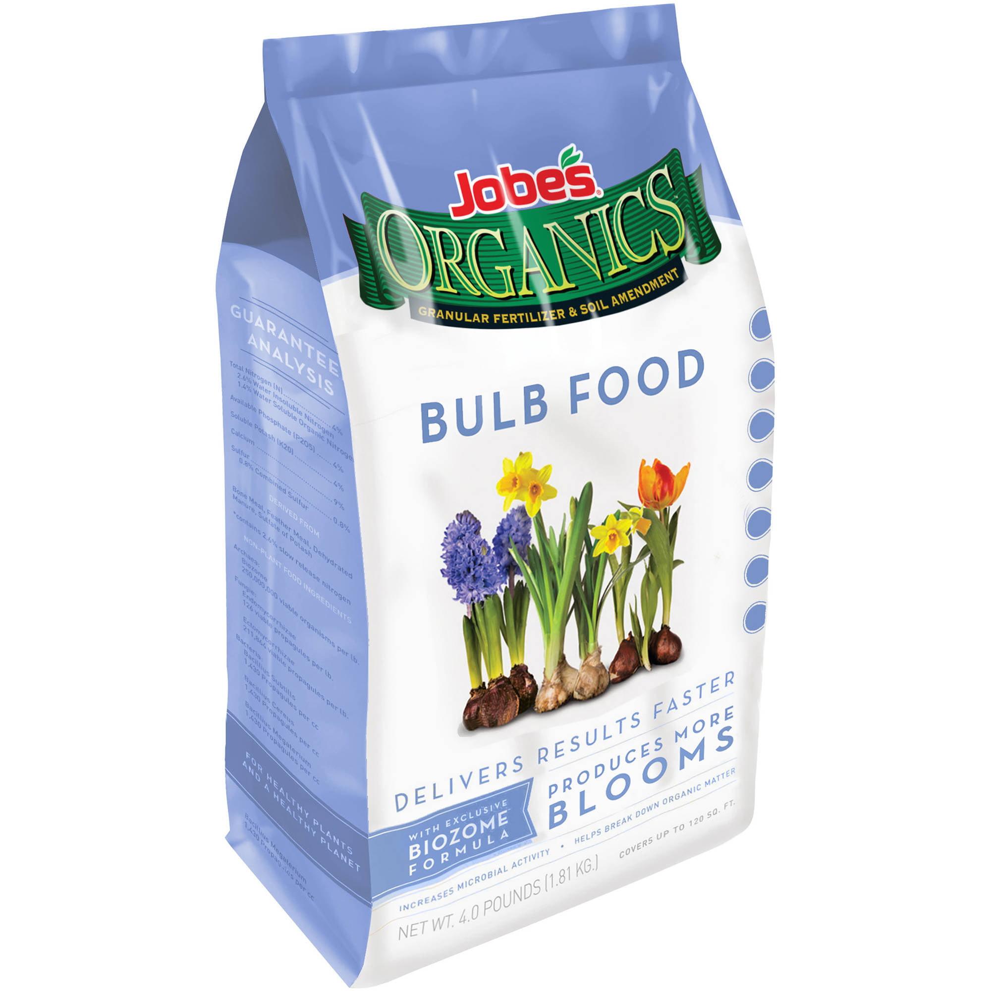 Jobe's Organics Bulb Food Fertilizer, 4 lbs