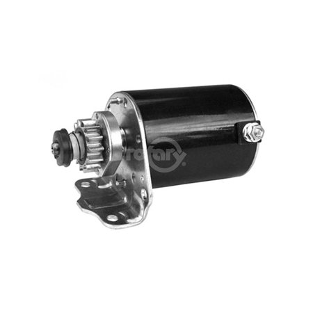 Briggs & Stratton 693551 & 593934 Electric Starter. Note: Metal Coating over plastic gear. Engines w/steel - Electric Starter Gear