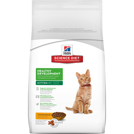Hills science diet kitten healthy development chicken recipe dry hills science diet kitten healthy development chicken recipe dry cat food 155 lb bag forumfinder Images
