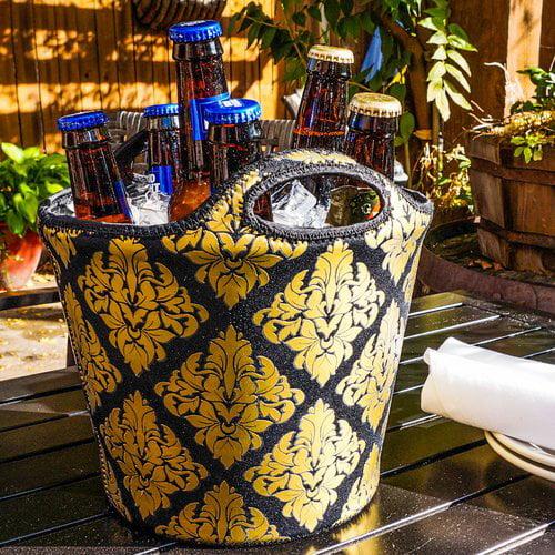 BrekX Insulated Damask Neoprene Beverage Tub