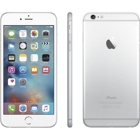 iphone 6 apple apple iphone 6 plus 16gb refurbished smartphone silver 11285