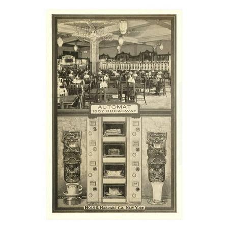 - Horn and Hardart Automat, New York City Print Wall Art