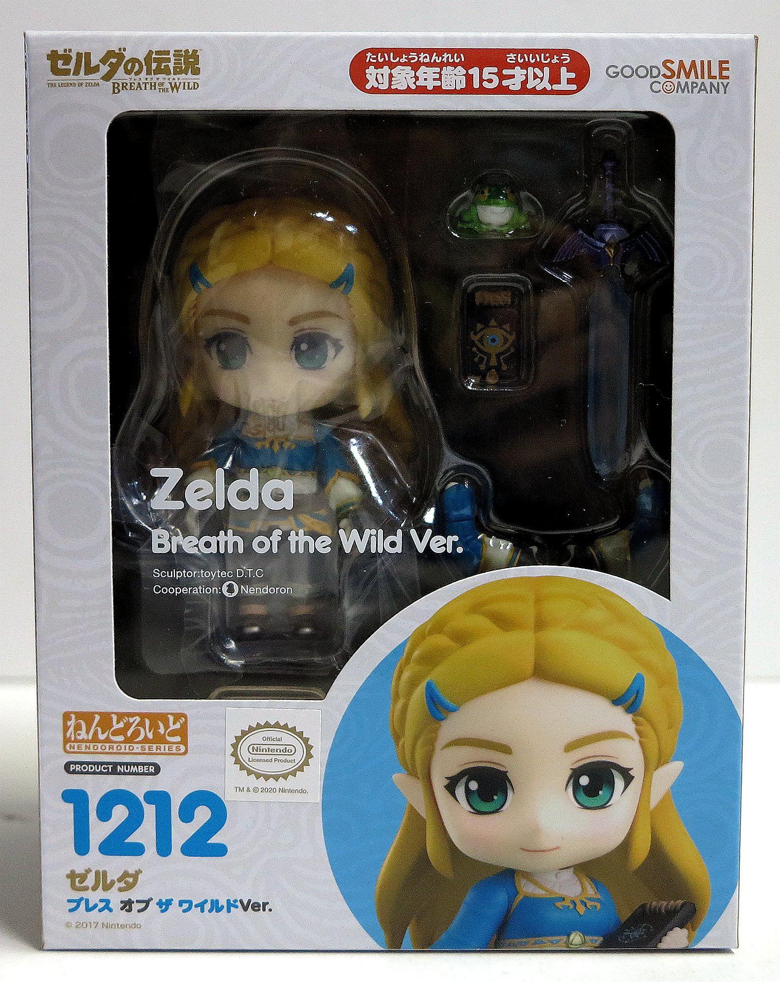 Breath of the Wild Ver Nendoroid 1212 The Legend of Zelda Zelda Figure NEW