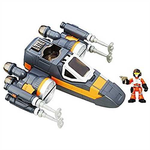 Playskool Heroes Star Wars Galactic Heroes Poe's X-Wing Fighter by Hasbro