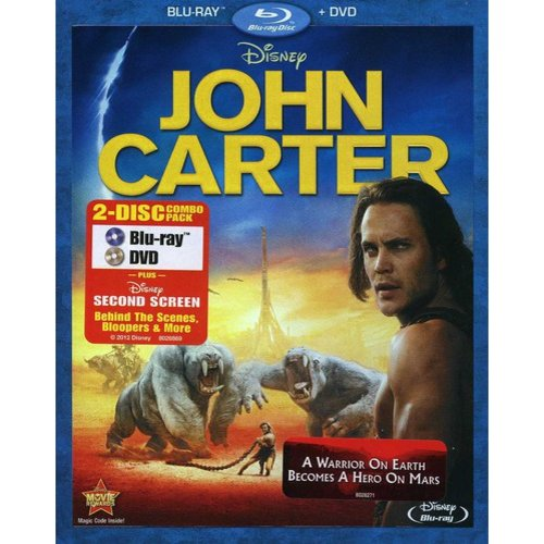 John Carter (Blu-ray   DVD) (Widescreen)