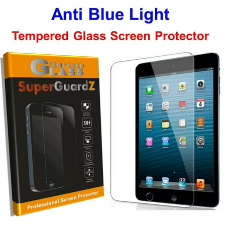 [2-PACK] iPad Mini 3 / Mini 2 / Mini 1 SuperGuardZ Tempered Glass Screen Protector [Anti Blue Light, Eye Protection]