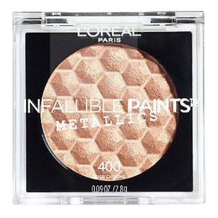 LOreal Paris Infallible Paints Eyeshadow Metallics, Rose Chrome