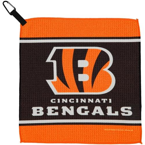 "Cincinnati Bengals WinCraft 13"" x 13"" Waffle Towel - No Size"