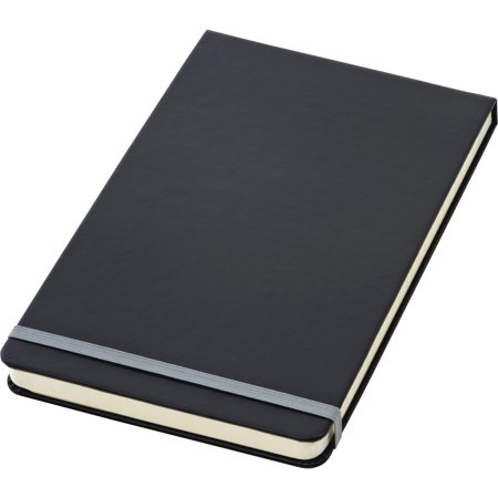 TOPS, TOP56886, Black Cover Wide Ruled Top Bound Journal, 1 / Each