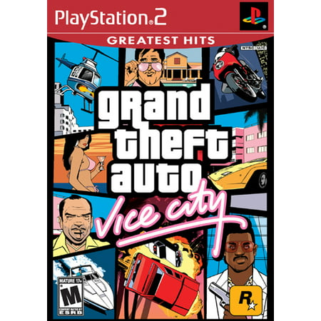 PS2 Grand Theft Auto Vice City (Cheats For Gta 4 Episodes Of Liberty City)