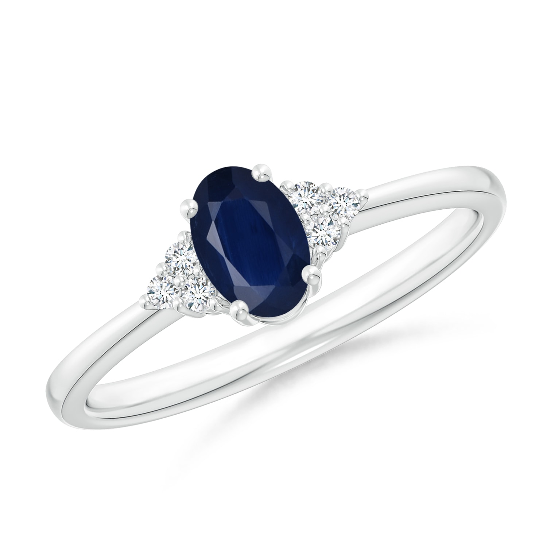 september birthstone ring solitaire oval blue sapphire. Black Bedroom Furniture Sets. Home Design Ideas