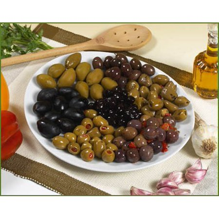 Mediterranean Olive - Mediterranean Olive Mix in Oil - Sold by the Pound