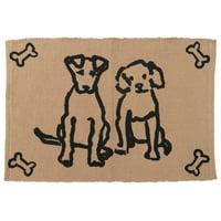 Park B Smith Ltd PB Paws & Co. Dog Friends Cotton Pet Mat