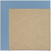 Capel Rugs - Zoe-Cane Wicker Rectangle Machine Tufted Rugs
