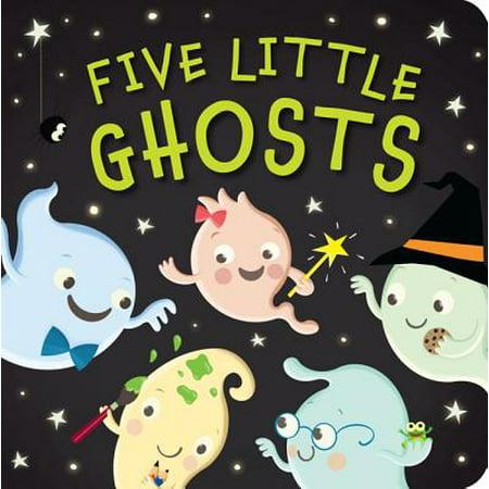 5 Little Ghosts (Board Book)