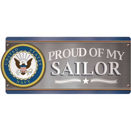 U.S. Navy Car Magnet, Proud of My Sailor