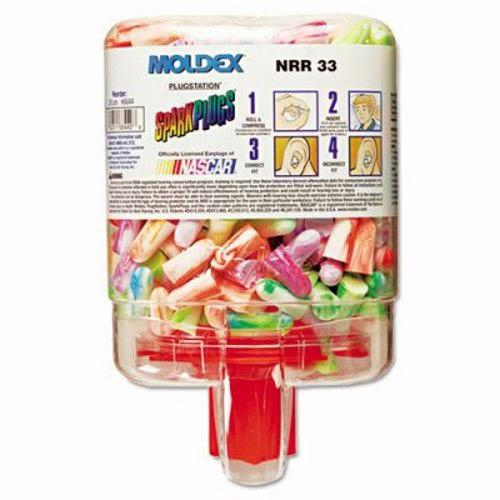 Moldex Earplug Dispenser System, Cordless, Random Colors, 250 Pairs (MLX 6644)