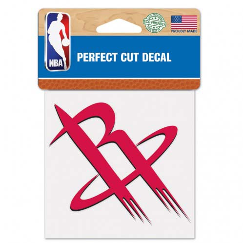 Houston Rockets 4X4 Color Die Cut Decal