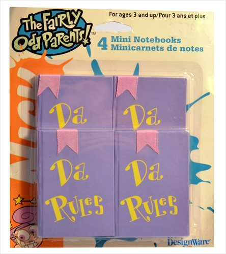 Fairly OddParents Mini Notebooks (4ct) by