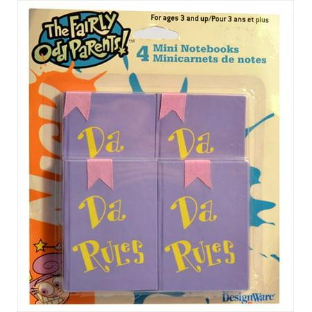 Fairly OddParents Mini Notebooks (4ct)