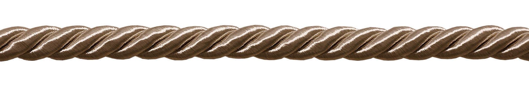 Basic Trim Collection 3//8 inch Large Dark Sand Color Decorative Cord Sold by The Yard Style# 0038NL Color: Beige A8
