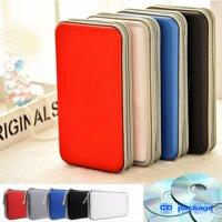 CD DVD Wallet Holder Storage Box Bag Case Album Organizer Media Storage 80 Disc