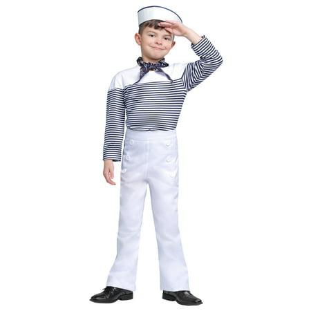 Sailor Boy Costume (Boy's Vintage Sailor Costume)